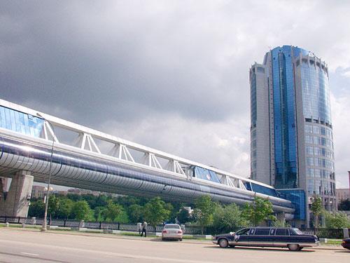 Крымский вал - Строительство большого бизнес-центра на Крымском валу